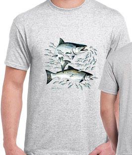 T-shirt pêche au saumon