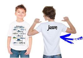 BOITE cadeau jeune pêcheur de gros poisson de mer