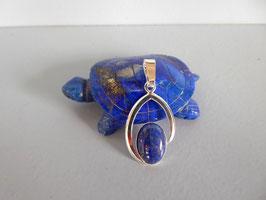 Pendentif martelé lapis lazuli P NO 6 LZ