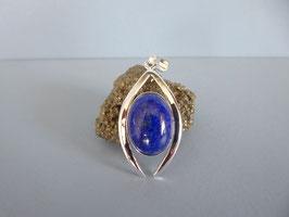 Pendentif martelé lapis lazuli P NO 4 LZ