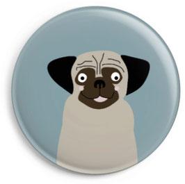 Magnet Hund Mops (32 mm)