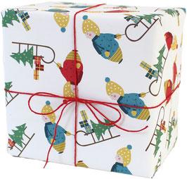 Geschenkpapier Winterjunge (3 Bogen)