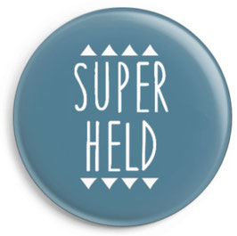 "Button ""Superheld"""