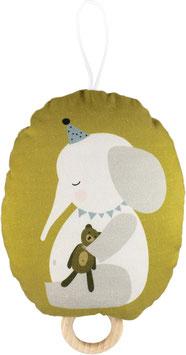 Spieluhr Elefant (Melodie: Schuberts Wiegenlied)