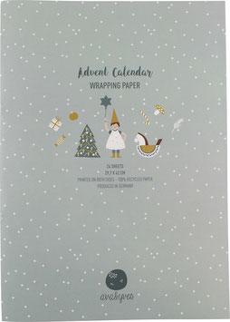 Special: Adventskalender-Geschenkpapier für Kinder