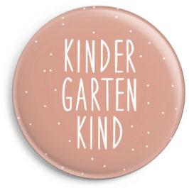 "Button ""Kindergartenkind"", rosa"