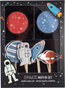 """Cupcake Set """"Space"""""""