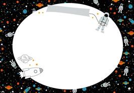 """Tischset- und Schreibunterlage """"Space"""", 25 Blatt"""