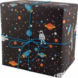 Geschenkpapier Space (3 Bogen)