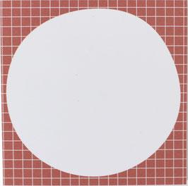 Block kariert, lachs/weiss, 50 Blatt (9,8 x 9,8 cm)