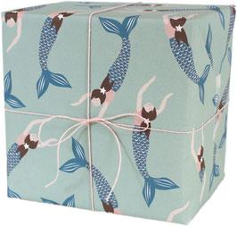 Geschenkpapier Meerjungfrau