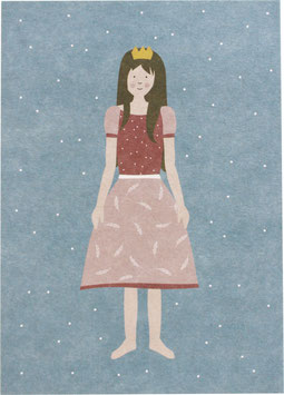 Postkarte Prinzessin - ohne Text