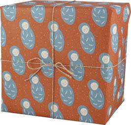 Geschenkpapier Baby (3 Bogen)
