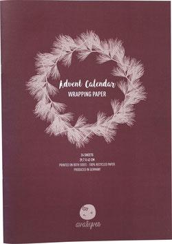 Special: Adventskalender-Geschenkpapier für Erwachsene