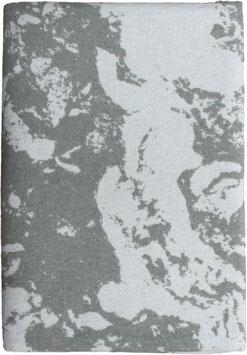 Flanelldecke Marmor, muschel/altweiss (140x200 cm)
