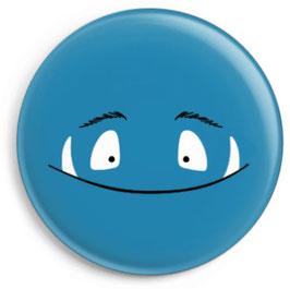 Button Monster, blau