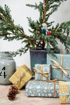Special: Adventskalender-Geschenkpapier, Wichtel