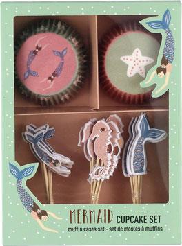 """Cupcake Set """"Meerjungfrau"""""""