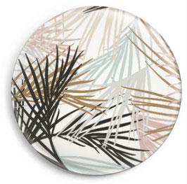 Magnet Palmblätter, bunt/weiss (32 mm)