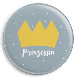 """Button """"Prinzessin"""""""