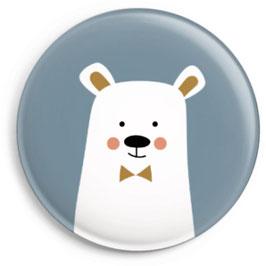 """Button """"Eisbär"""""""
