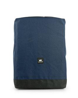 Backpack tomy - blue/beige