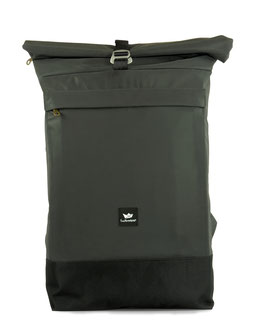 Courier Bag - anthrazit/silber