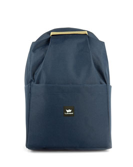 Backpack alma - blue/beige