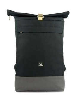 Courier Bag - blue/grey