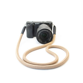 Kameragurt beige - Camerastrap beige