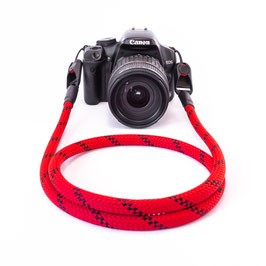 Kameragurt rot/schwarz - Camerastrap red/black - Peak Design