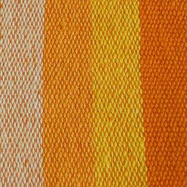 Handtuch / Geschirrtuch orange gestreift