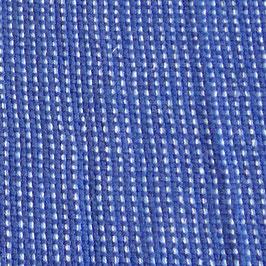 Handtuch / Geschirrtuch Farbverflechtung blau-hellblau