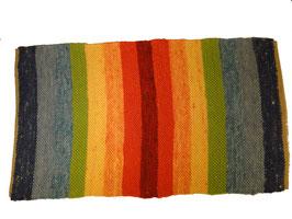 Teppich regenbogenfarben