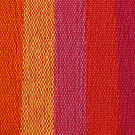 Handtuch / Geschirrtuch pink-orange gestreift