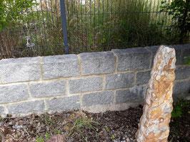 Mauerstein Granit hell, versch. Stärken, Stück