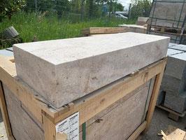 Blockstufe Travertin Classic, 100 x 35 x 15 cm, Stück