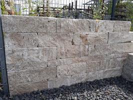 Mauersteine Travertin Classic, verschiedene Höhen, m²