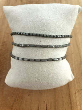 BLACK BEAUTY Armband Set Graues Mäuschen