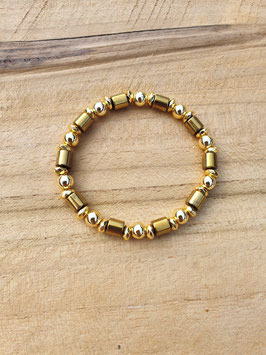 SHINE BRIGHT Armband Shiny Gold