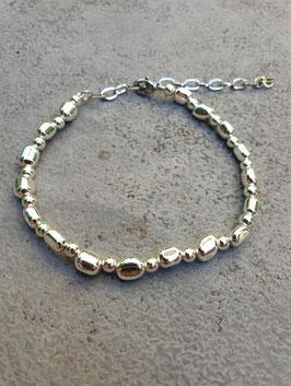 Fußkettchen Shiny Silver