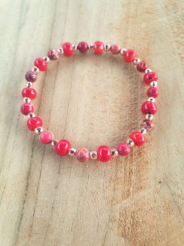 COLOUR YOUR LIFE Armband Red Rose