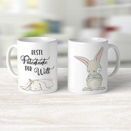 """Kaffeetasse """"Beste Patentante der Welt"""""""