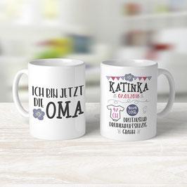 """Tasse """"Ich bin jetzt Oma"""""""