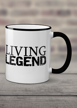 """Kaffeetasse """"Living Legend"""""""