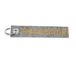 """Schlüsselanhänger """"Tennisking"""""""