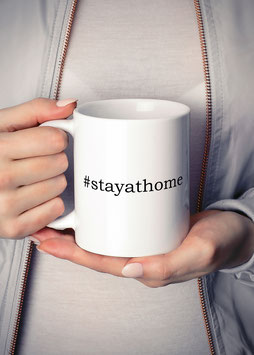 Kaffeetasse #stayathome