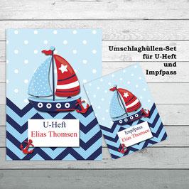 """Set """"Boot"""" für U-Heft und Impfpass"""