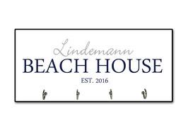 """Schlüsselbrett """"Beach House"""""""
