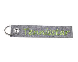 """Schlüsselanhänger """"Tennisstar"""""""